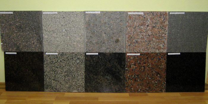 разновидности каменной плитки