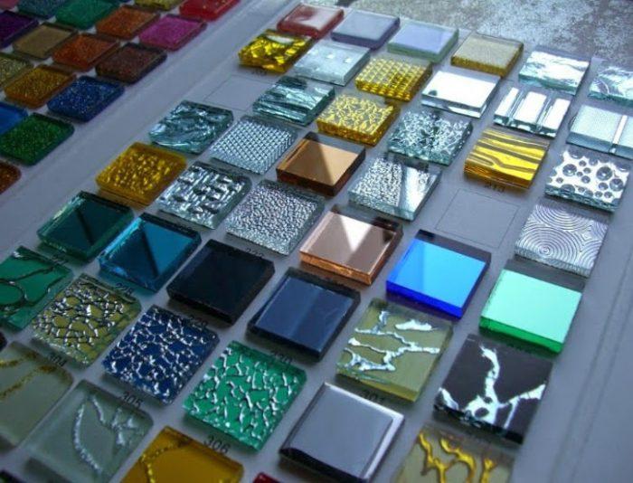 плитка из прозрачного стекла