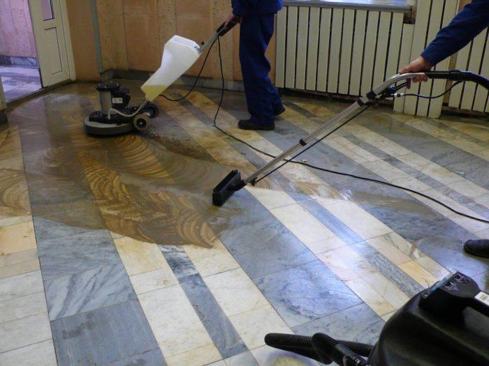 реставрация напольного керамогранита