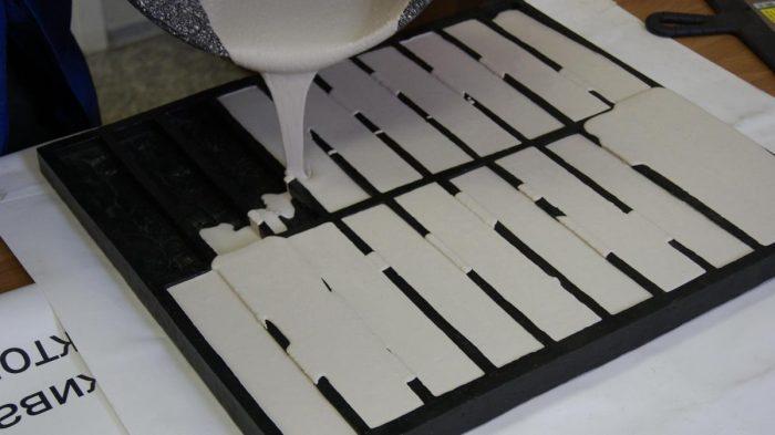 изготовление гипсовой плитки