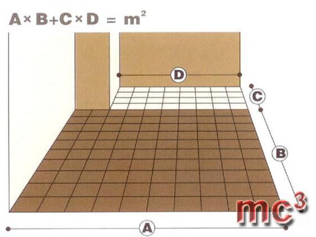 правила расчета количества материала