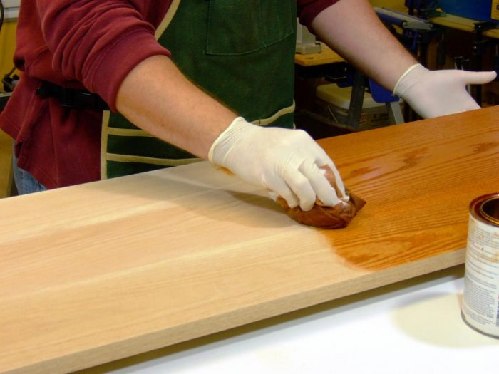 обработка террасной доски