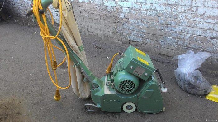 ленточный шлифовальный агрегат