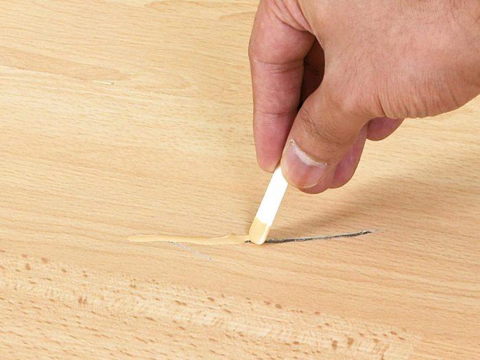ремонт сколов и щелей