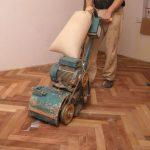 обработка напольного покрытия