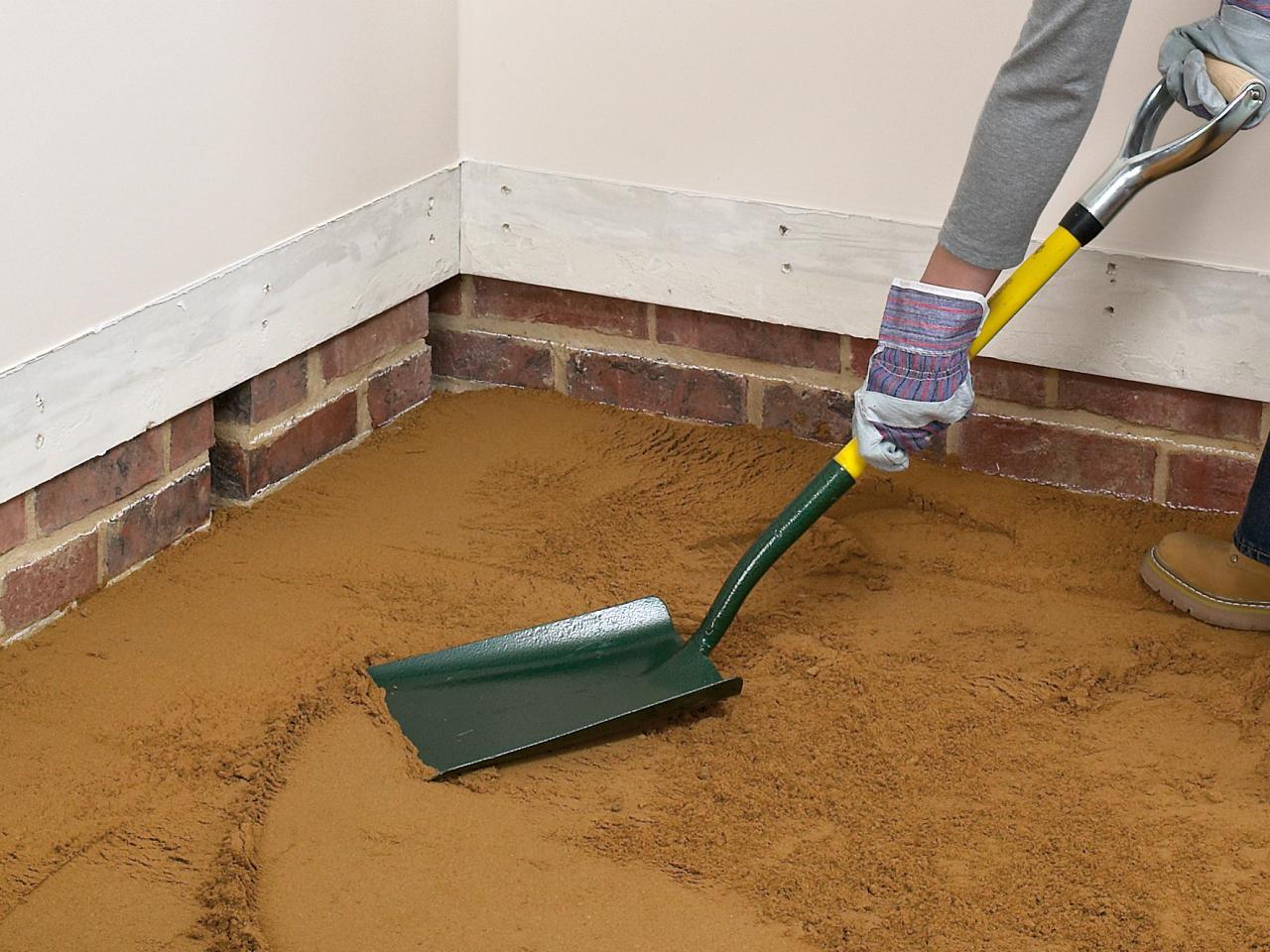 как залить бетонный пол в доме