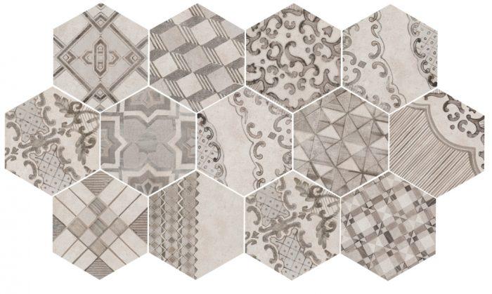 плитка с орнаментом