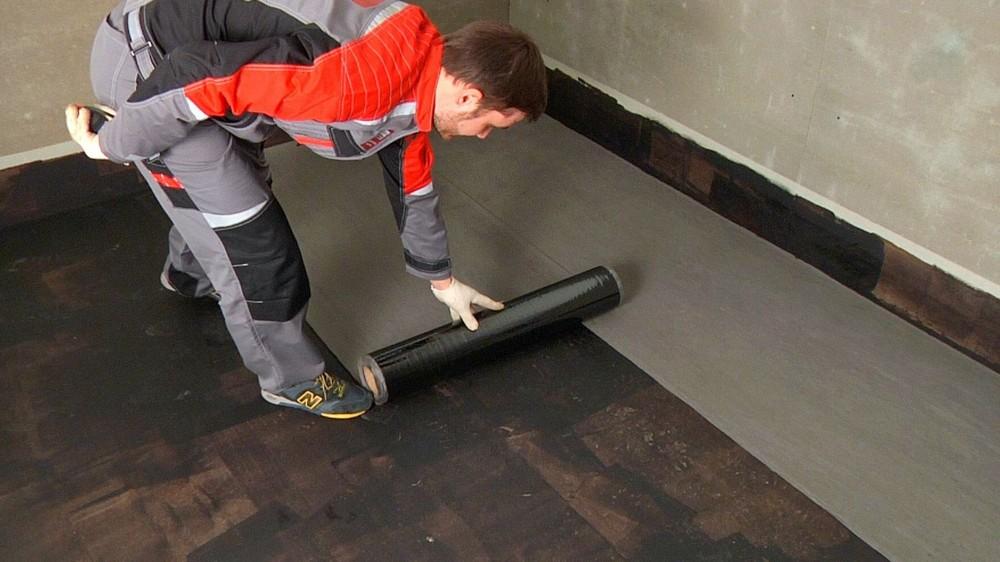 Гидроизоляция деревянного пола под плитку