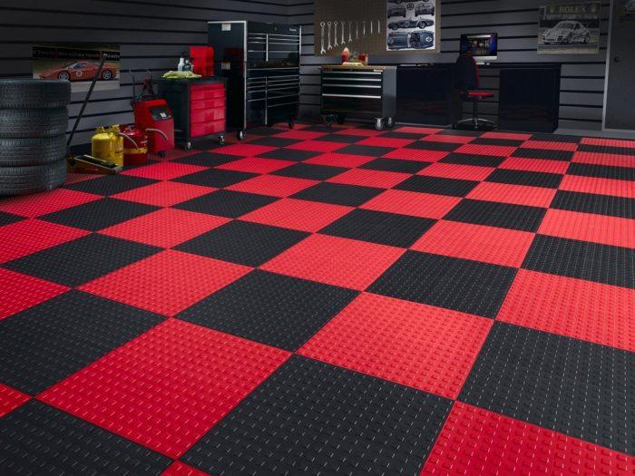 резиновое покрытие для гаражного пола