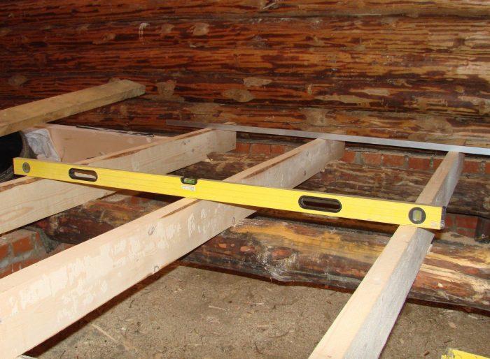 монтаж деревянного настила