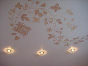 рисунки на потолке
