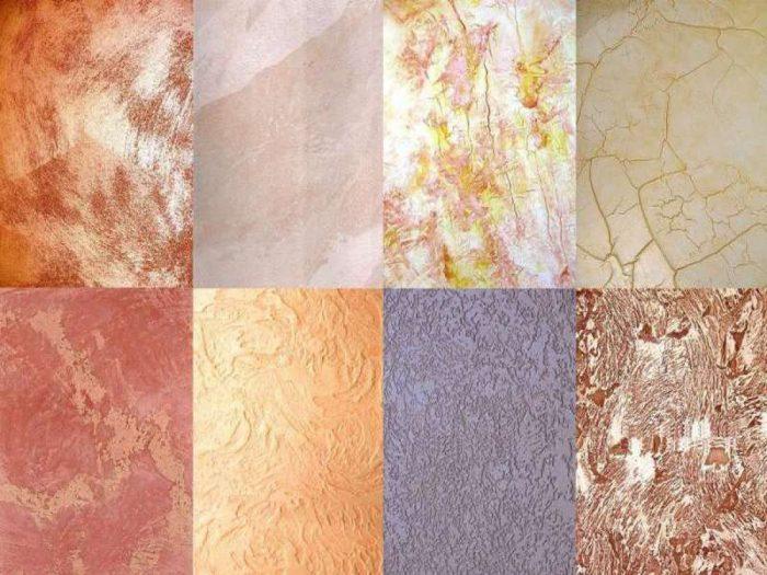 декоративные краски для потолка