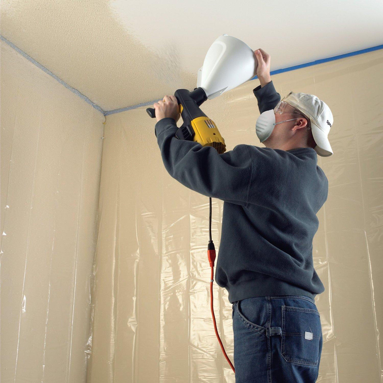 малярные способы декорирования потолка фото втором