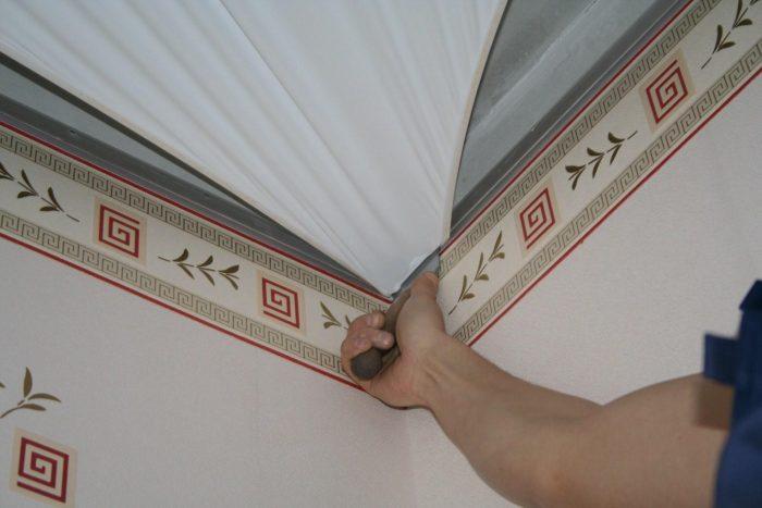 выбор материала для потолка