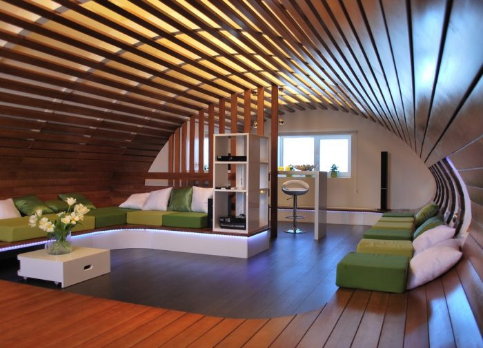 реечные конструкции потолков