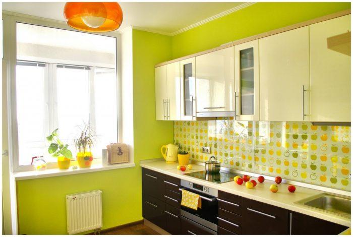 выбор цвета краски для кухни
