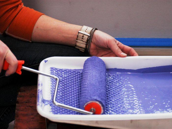 валик для водоэмульсионной краски