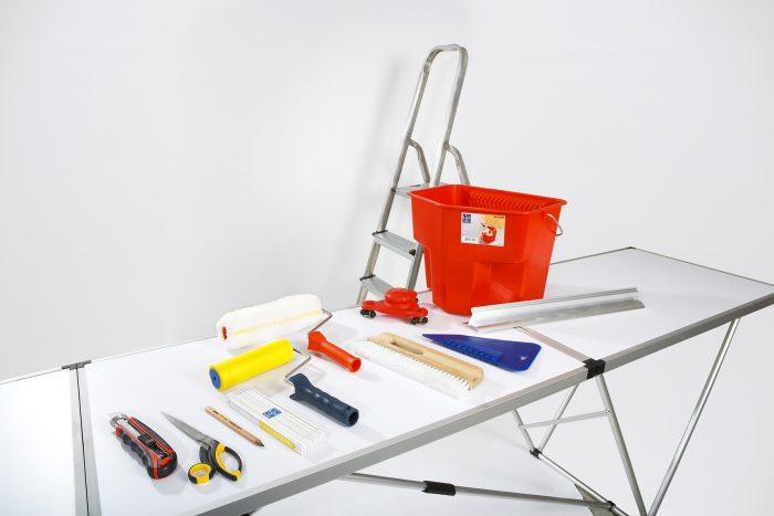 полный набор инструментов для покраски