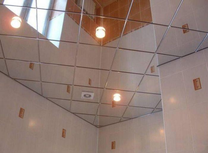потолочная плитка для ванной