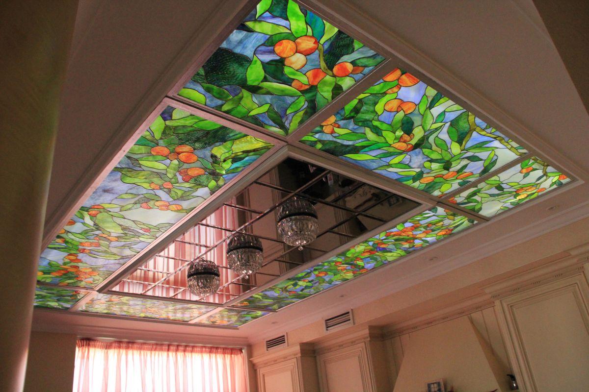 Поделки витраж из стекла своими руками фото боденском озере
