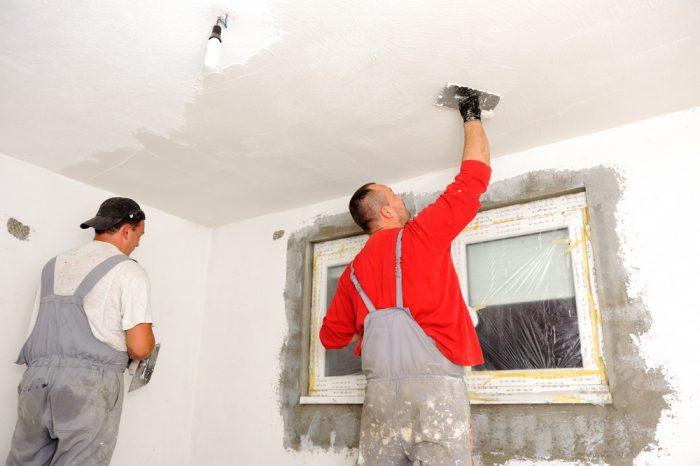 капитальный ремонт потолка