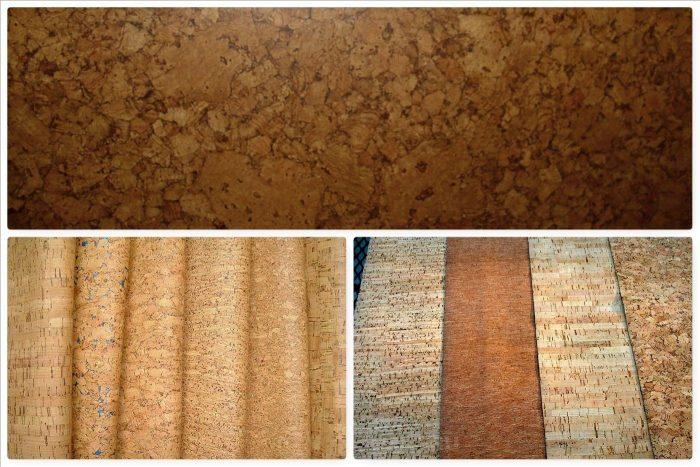 разновидности пробкового покрытия
