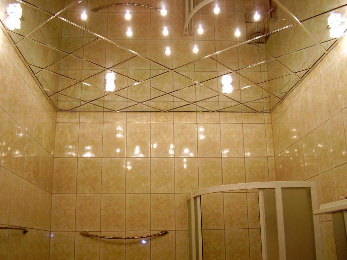 возможности стеклянных потолков