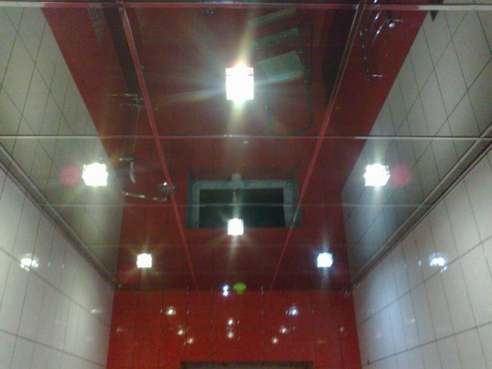 панели на потолок в ванную
