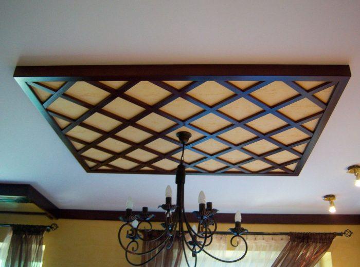 деревянные элементы декора