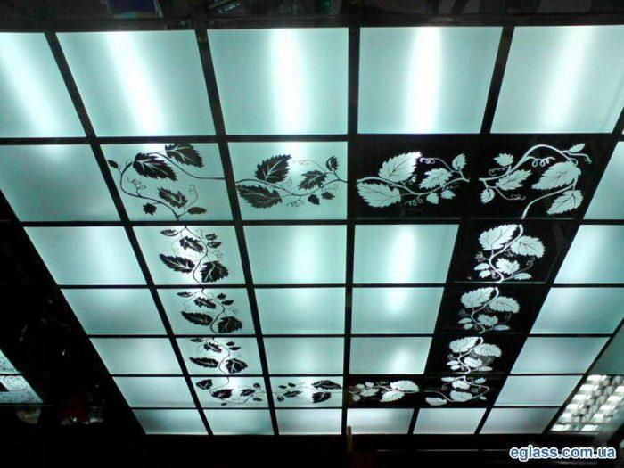 стеклянные панели