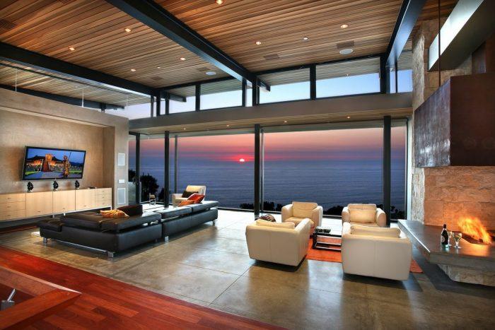 потолок в стиле лофт