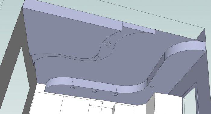проектирование подвесного потолка