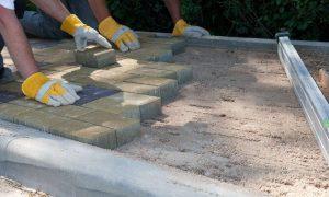 Укладка плитки на цементно-песчаную смесь