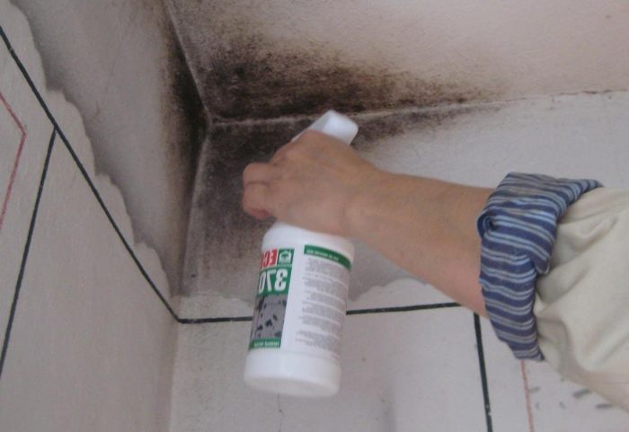 методы очистки потолка