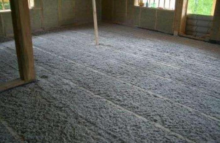 опилки в комбинации с цементом