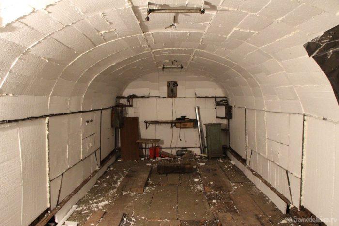 теплоизоляция гаражного потолка