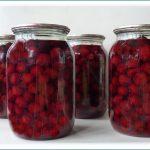 заготовка ягод и фруктов