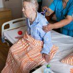 пенсионер после инсульта