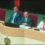 Выступление зампреда Саратовской облдумы Ольги Алимовой
