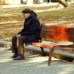 одинокий пенсионер