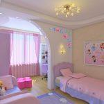 гипсокартонный потолок в детской