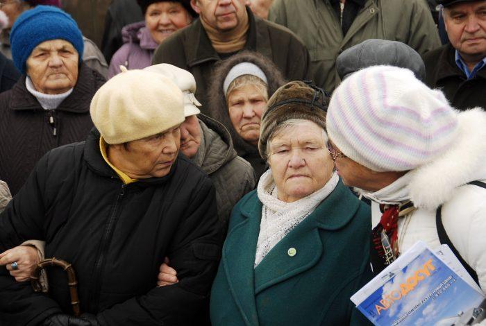Лишение индексации пенсионеров