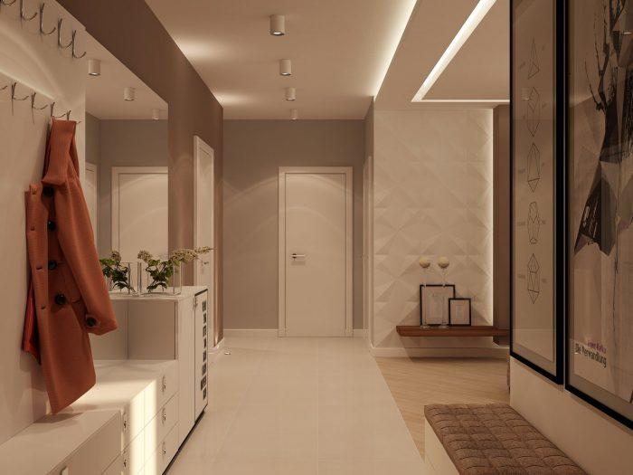 вариант дизайна коридора