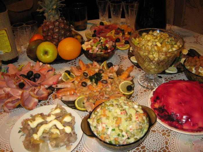 Вкусные и праздничные салаты