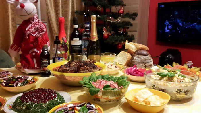 Рецепты блюд на Новый год 2019