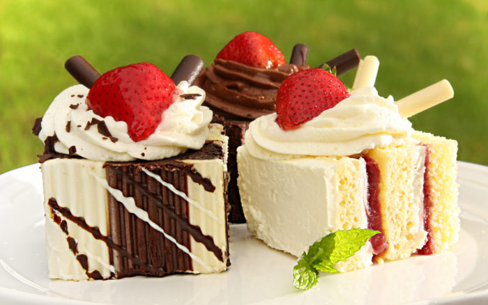 Вкусные пирожные на Новый год 2019