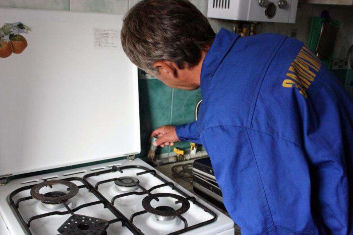 Проверка владельцев газовых плит