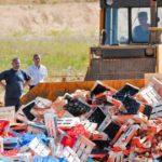 Уничтожение санкционных продуктов и причины