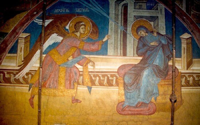Икона Благовещение Пресвятой Богородицы