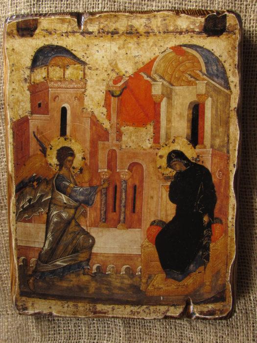 Благовещение Богородицы Андрей Рублев